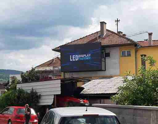 Belgrand-led-displej-ugradnja-Banja-Luka