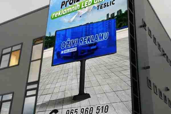 P8 5x12 Gradiška LED EURO MEDIA
