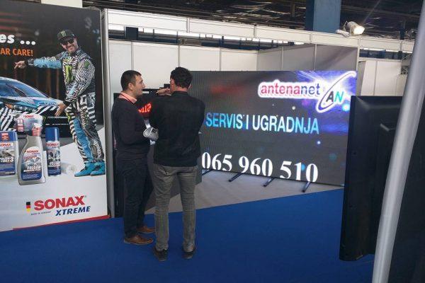1. Antena Net Belgrand prezentacija LED displeja Mostar