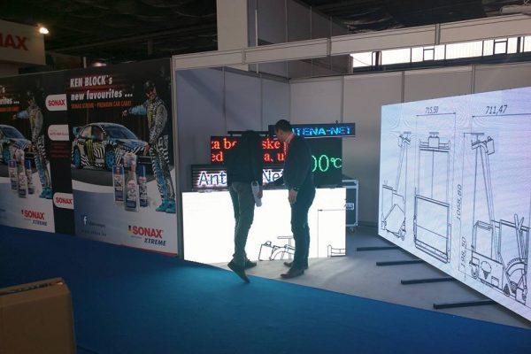 3. Antena Net Belgrand prezentacija LED displeja Mostar