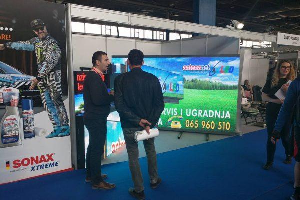 5. Antena Net Belgrand prezentacija LED displeja Mostar