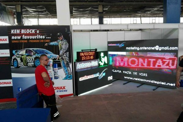 6. Antena Net Belgrand prezentacija LED displeja Mostar