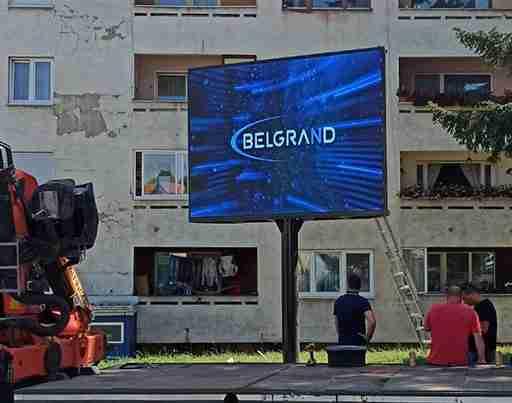 Belgrand-led-displej-ugradnja-Novi-Travnik